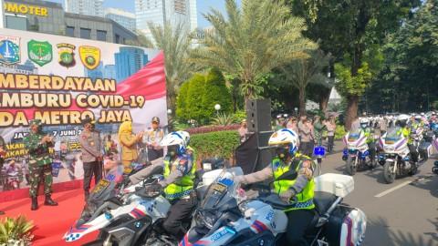 Kapolda Metro Jaya Mengerahkan Tim Pemburu Covid-19