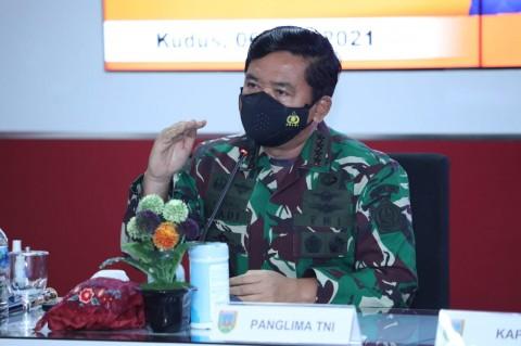 TNI Turunkan Lebih Banyak Personel ke Wilayah PPKM Mikro