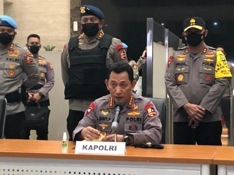 Kapolri Siapkan Manajemen Kontingensi Tangani Zona Merah Covid-19