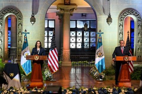 Kamala Harris Minta Imigran Amerika Tengah Tak Datang ke AS