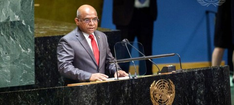 Maldives Foreign Minister Elected Next UN General Assembly President