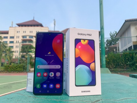 Samsung Gelar Flash Sale Galaxy M62, Begini Spesifikasinya