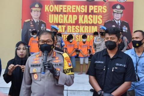 6 Pengeroyok Anggota TNI di Terminal Purabaya Ditangkap