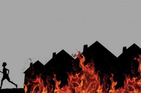 296 Kios di Pasar Tradisional Kota Pinang Sumut Terbakar