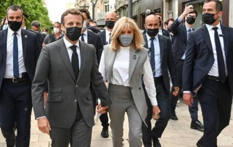 Keren, Begini Reaksi Presiden Prancis usai Ditampar Warga