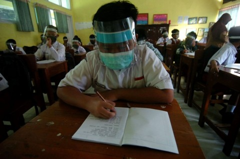 226 Sekolah di Jakarta Uji Coba Pembelajaran Tatap Muka Hari Ini