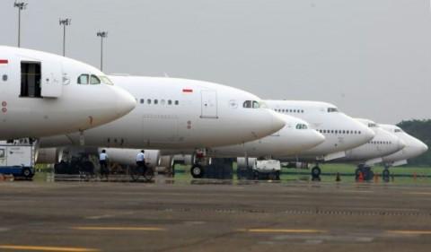 Ternyata, Garuda hanya Punya 6 Pesawat Milik Sendiri