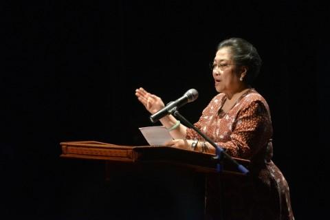 Profesor Jepang Bongkar Gaya Kepemimpinan Megawati