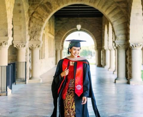 Lulus dari Stanford University, Maudy Ayunda Bagikan Pengalaman Tak Terlupakan