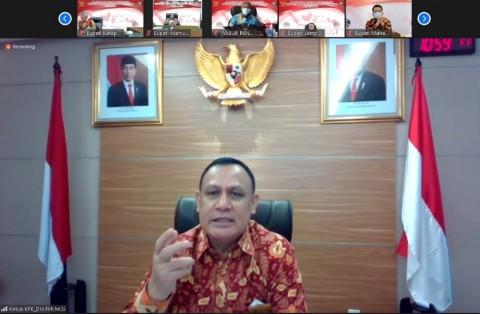 Ketua KPK Wanti-wanti Kepala Daerah Soal Donatur Pilkada