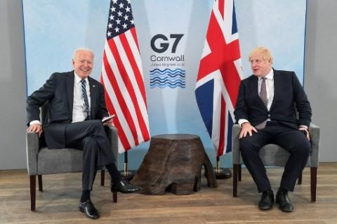 PM Inggris Puji Biden Memberikan 'Angin Segar' bagi Dunia