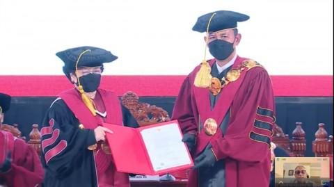 Sah, Megawati Dapat Gelar Profesor Kehormatan dari Unhan