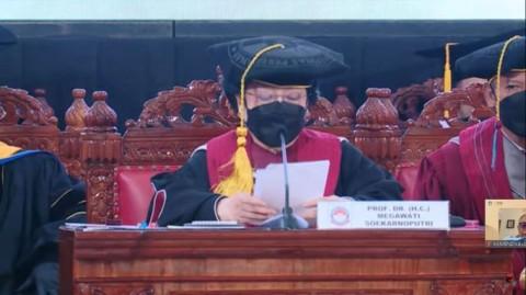 Megawati Sebut Bakal Dapat Gelar HC Lagi dari Sejumlah Universitas