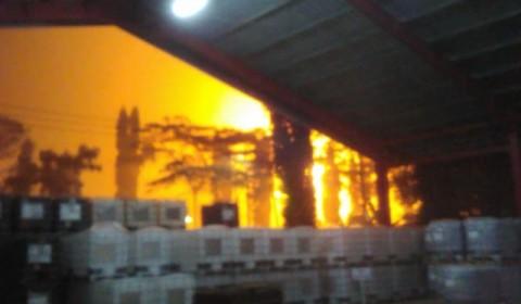 Lagi, Area Kilang Pertamina di Cilacap Terbakar