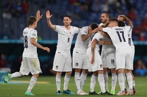 Italia Gulung Turki pada Laga Pembuka Euro 2020