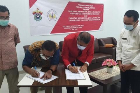 Unhas-Untan Kolaborasi Kembangkan Wilayah Perbatasan Indonesia-Malaysia