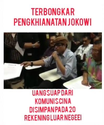 [Cek Fakta] Presiden Joko Widodo Punya 20 Rekening di Luar Negeri? Ini Faktanya