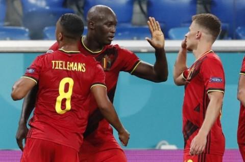 Euro 2020: Lukaku Sumbang Dua Gol saat Belgia Pecundangi Rusia