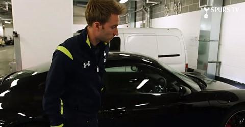 Mengintip Porsche 911 Milik Christian Eriksen