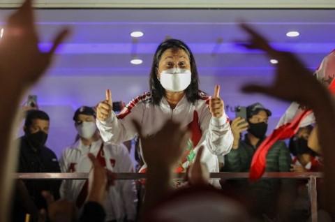 Rivalnya Hampir Menang, Fujimori Tuding Ada Kecurangan Pilpres