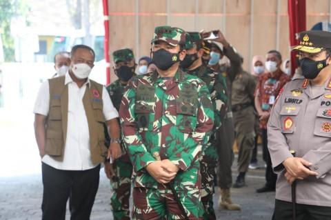 Panglima Minta TNI-Polri Cegah Peningkatan Covid-19 di Jakarta