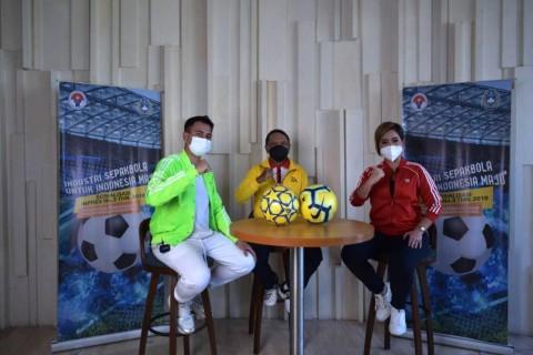 Bersiaplah! Industri Sepak Bola Bakal Meledak karena Sosialisasi Ini dari Kemenpora