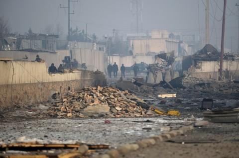 ISIS Klaim Ledakan yang Mengenai Dua Minibus di Kabul