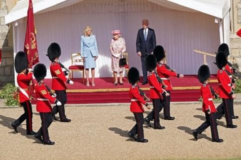 Ratu Elizabeth II Menjamu Presiden AS Joe Biden di Istana Windsor