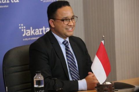 Anies Menyanggupi Target Jokowi Vaksinasi 7,5 Juta Warga DKI