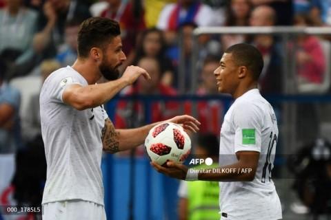 Mbappe Kecewa dengan Komentar Giroud