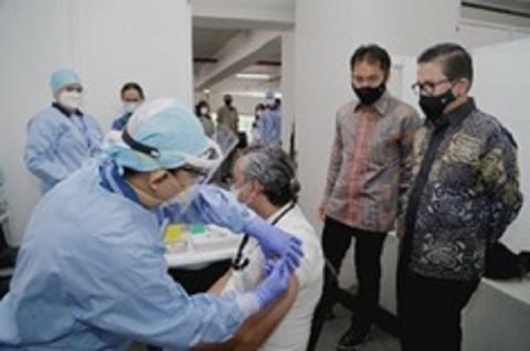 Freeport Indonesia Vaksinasi 38 Ribu Karyawan dan Keluarga