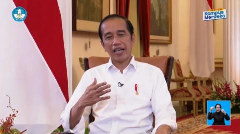 Jokowi Minta Mahasiswa Asah Kemampuan Berwirausaha