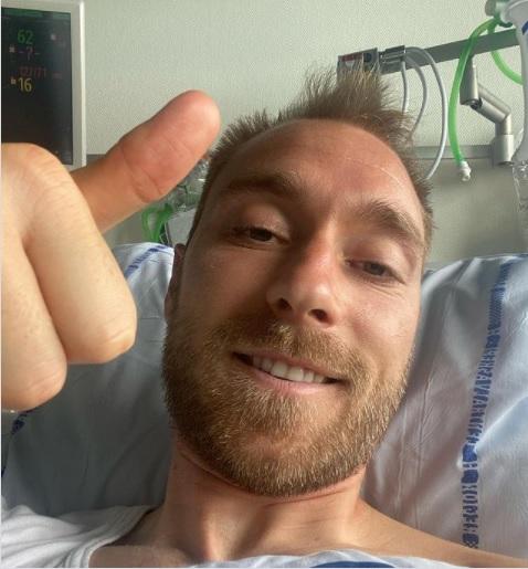 Muncul di Media Sosial, Christian Eriksen Ungkap Kondisinya Saat Ini