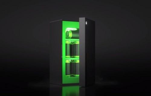 The Xbox Mini-Fridge (Foto: @Xbox)