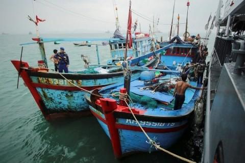 117 Kapal Pencuri Ikan Ditangkap Sepanjang 2021