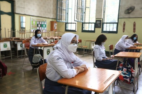 Uji Coba PTMT di Bandung Disetop