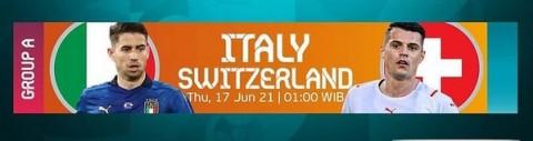 [LIVE EURO 2020] Ini Link Nonton Live Streaming Italia vs Swiss dan Cara Berlangganan