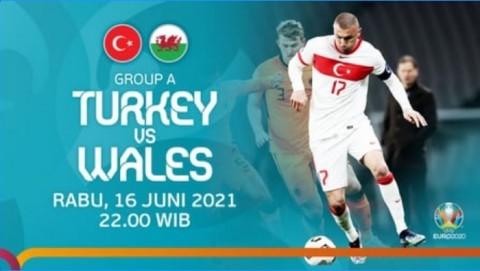 [LIVE EURO 2020] Ini Link Nonton Live Streaming Turki vs Wales dan Cara Berlangganan