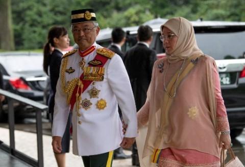 Raja dan Jajaran Penguasa Malaysia Kembali Bahas Krisis Covid-19