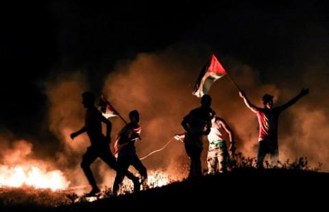 Pemuda Palestina Terluka Ditembak Militer Israel Dekat Perbatasan Gaza