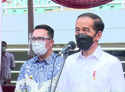 Jokowi Targetkan Kabupaten Bogor Capai <i>Herd Immunity</i> Agustus 2021