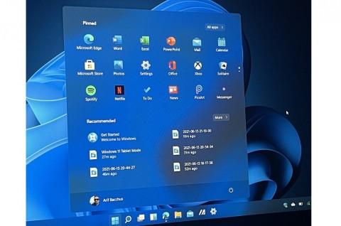 Begini Bocoran Screenshot Windows 11