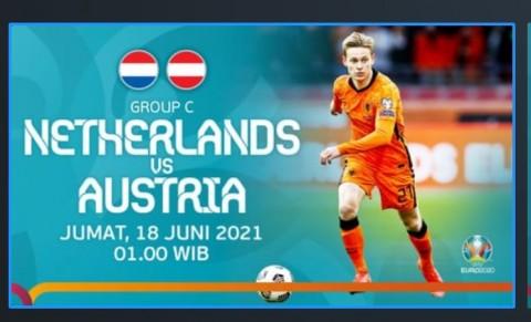 [LIVE EURO 2020] Ini Link Nonton Live Streaming Belanda vs Austria dan Cara Berlangganan