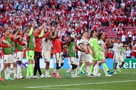 <i>Update</i> Klasemen Grup B Euro 2020: Belgia Susul Italia ke 16 Besar, Denmark Juru Kunci