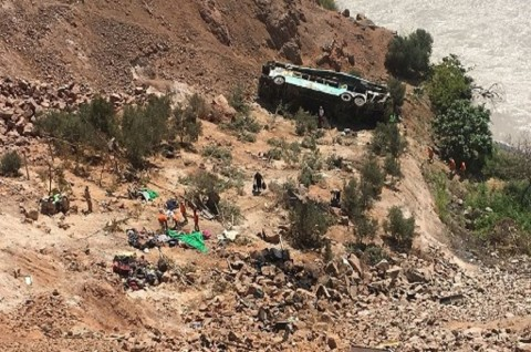 27 Penambang Tewas dalam Kecelakaan Bus di Peru