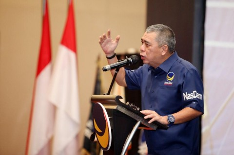 NasDem Gencar Komunikasi dengan Parpol Menyukseskan Konvensi Capres 2024