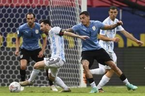 Copa America: Argentina Bungkam Uruguay dan Pimpin Grup A