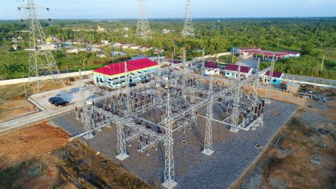 Operasikan SUTT 150 kV Rengat-Tembilahan, PLN Hemat Rp121,73 Miliar/Tahun