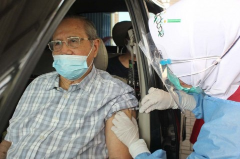 3,3 Juta Warga Jakarta Disuntik Vaksin Dosis Pertama