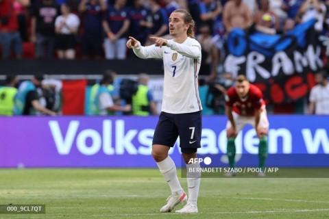 Euro 2020: Griezmann Selamatkan Prancis dari Kekalahan
